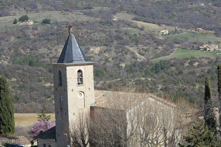 Église Notre-Dame-du-Bourg à Champtercier