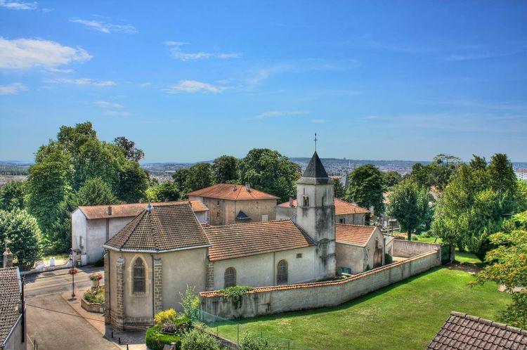 Eglise Saint-Médard de Saint-Max en Meurthe-et-Moselle