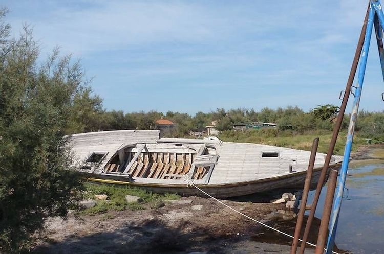"""Le bateau """"Le Loud"""" à Sète"""