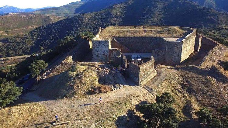 Le fort Dugommier de Collioure