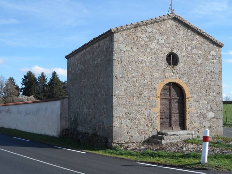 Chapelle Saint Roch à Saint-Barthélémy-Lestra dans la Loire