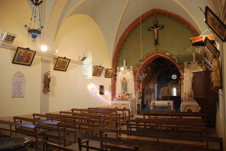 Eglise Saint-Romain à Lapeyrouse