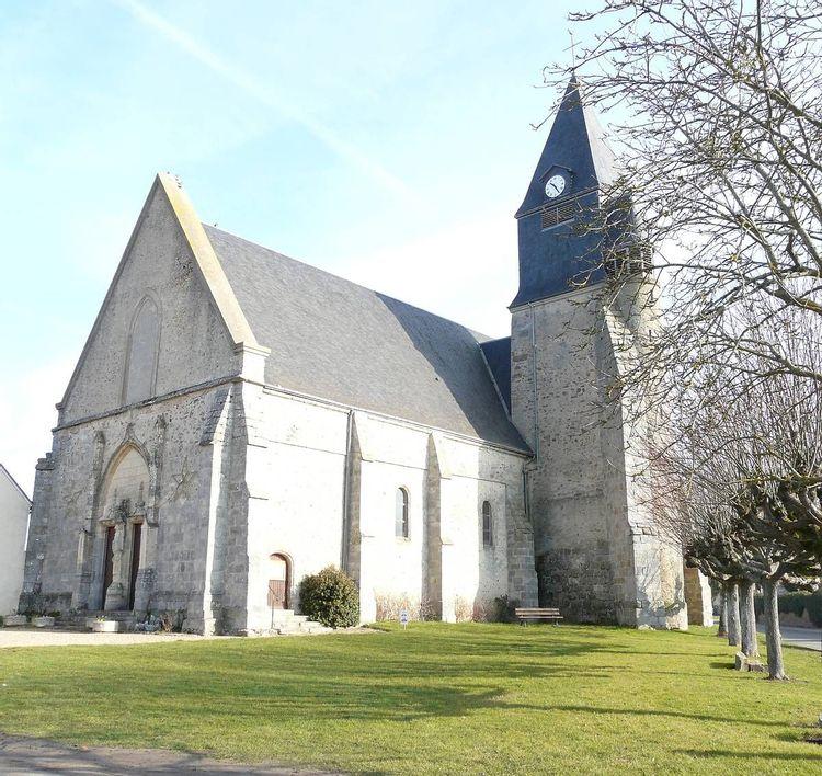 Eglise Saint Pierre de Boutigny-Prouais en Eure-et-Loir