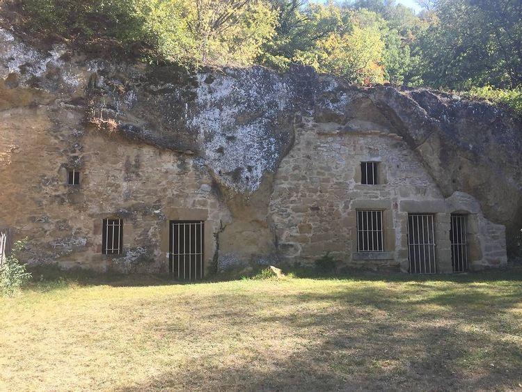 Site troglodyte de Châteauneuf-sur-Isère