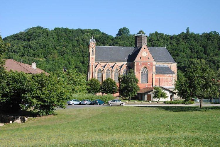 Basilique Notre-Dame-de-l'Osier en Isère