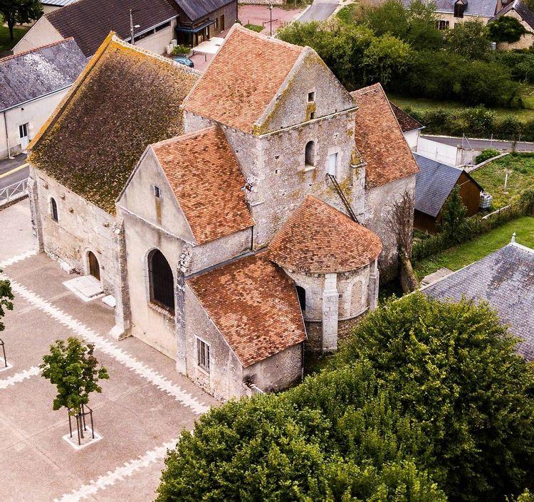 Eglise Saint-Lubin d'Averdon