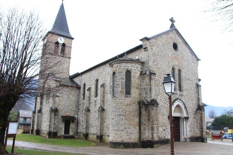 Eglise Saint-Jean-Baptiste de la Buissière en Isère