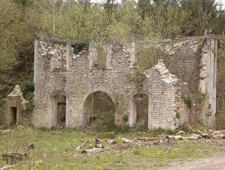 Vestiges de l'abbaye de Mureau à Pargny-sous-Mureau