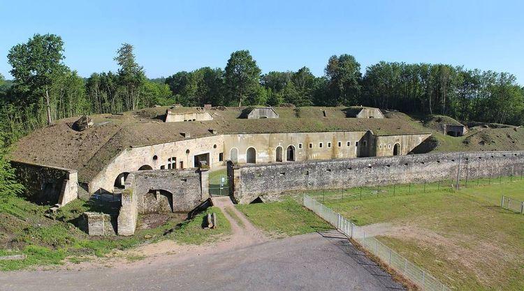 Fort de la Grande Haye à Golbey dans les Vosges
