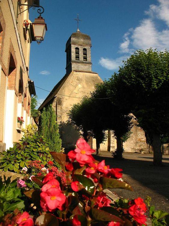 Eglise Saint-Victor de Blennes en Seine-et-Marne