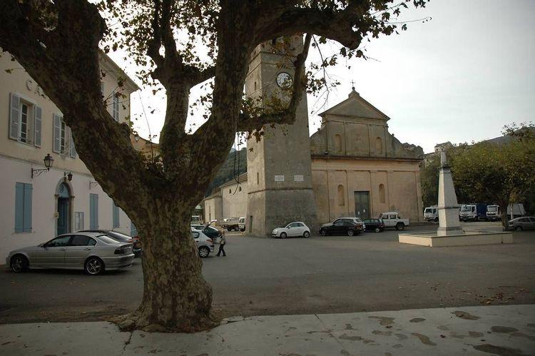 Collégiale et clocher de Luri