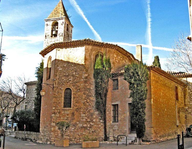 Église Saint-Grégoire à Tourrettes-sur-Loup