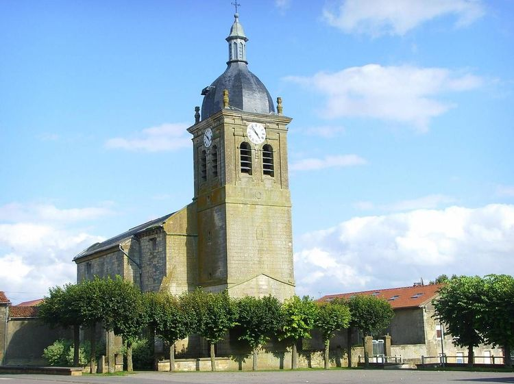 Eglise Saint-Medard de Pillon en Meuse