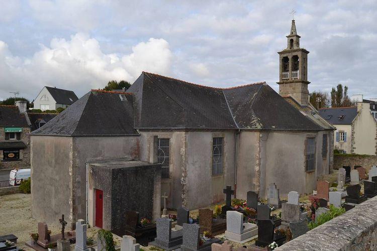 Eglise Saint-Tugdual avant travaux
