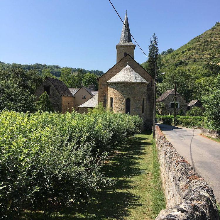 L'église Saint-Denis de Cougousse