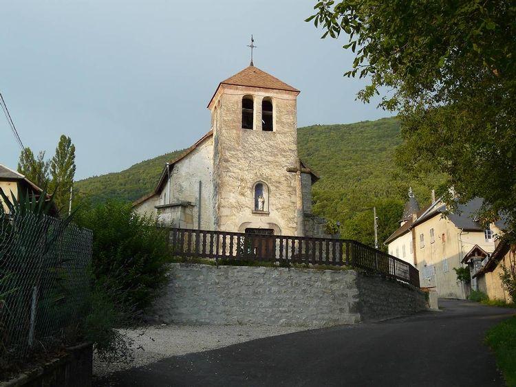 Eglise Saint André à Chavonay dans l'Ain
