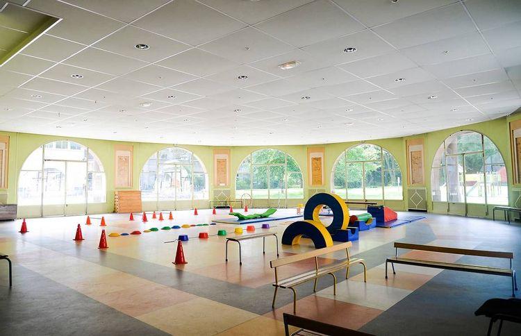 Salle de sport de l'école de plein air de Pantin