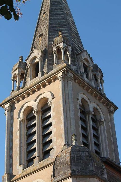Clocher église Saint-Laurent