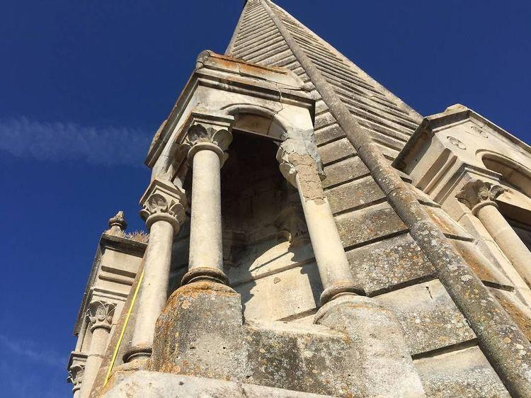 Détails clocher - église Saint-Laurent