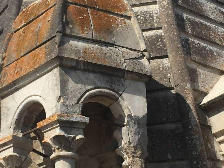 Détail toit clocheton - église Saint-Laurent