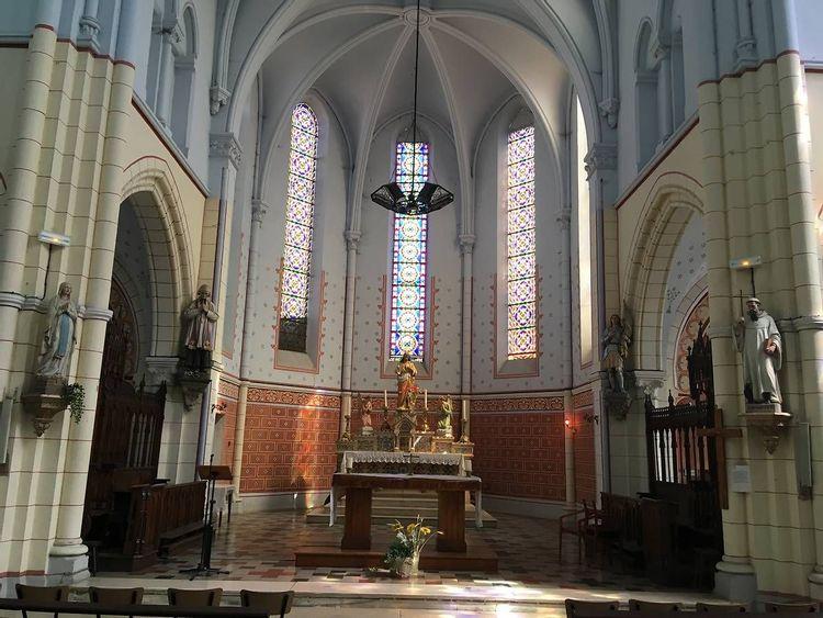 Vitraux de l'Eglise d'Izeaux en Isère