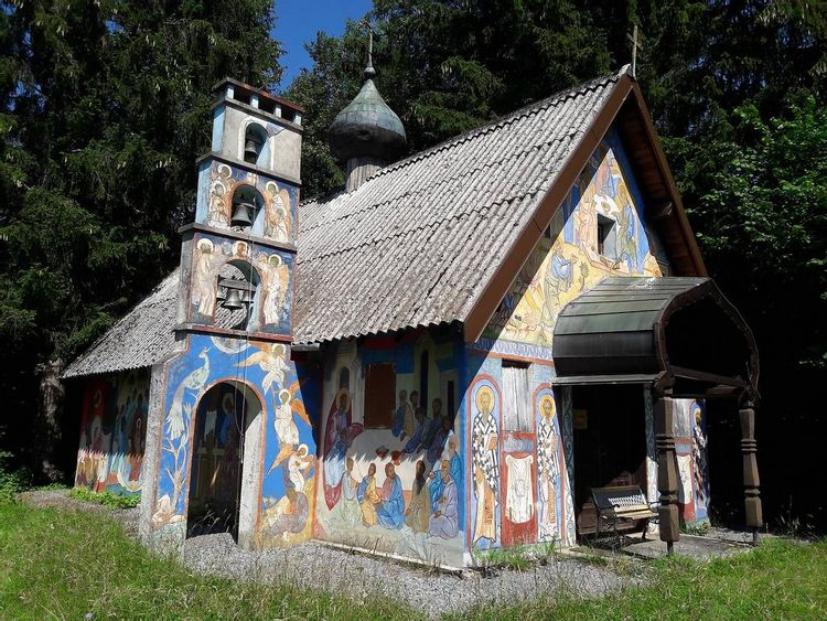 Chapelle Russe de Darbon à Publier en Haute-Savoie