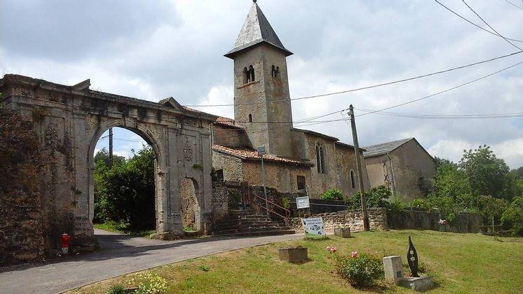 Eglise Saint-Pierre et Saint-Paul de Belleau à Morey en Meurthe-et-Moselle