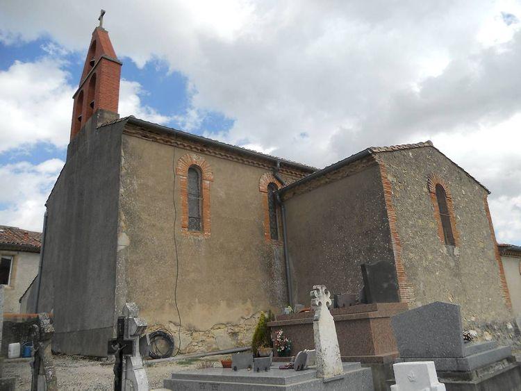 église saint-luc de puechoursy dans le tarn