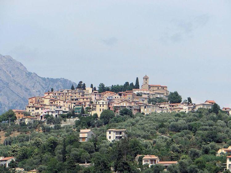 Calade et Echauguette du vieux village - Coaraze