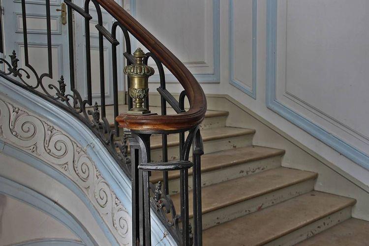Escalier du château de Forges