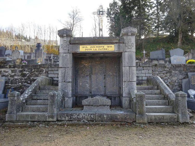 Monument aux morts de Riotord