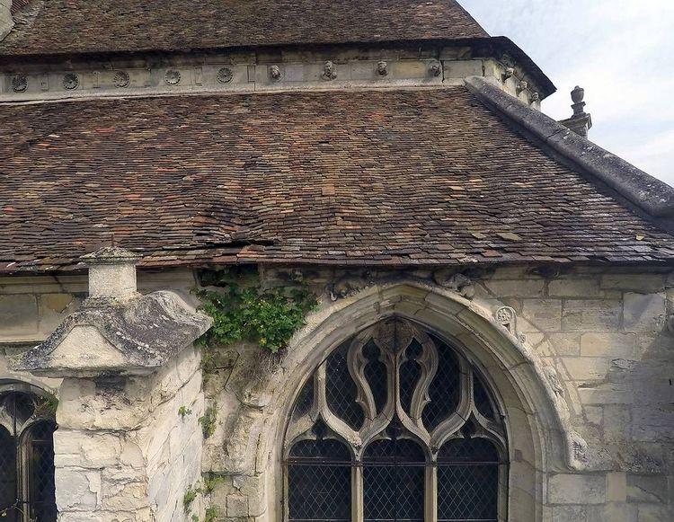 Toiture de l'église Saint-Sulpice de Villiers Adam