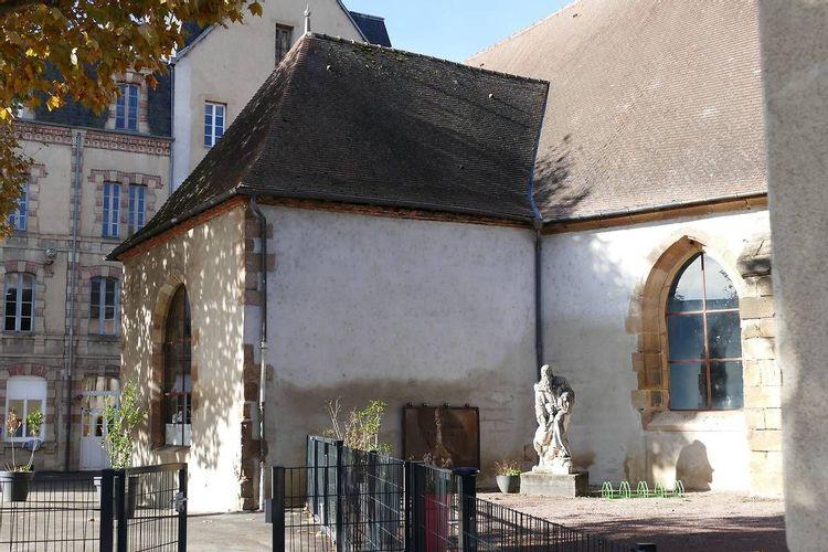 Statue de Saint-Gilles-Moulins