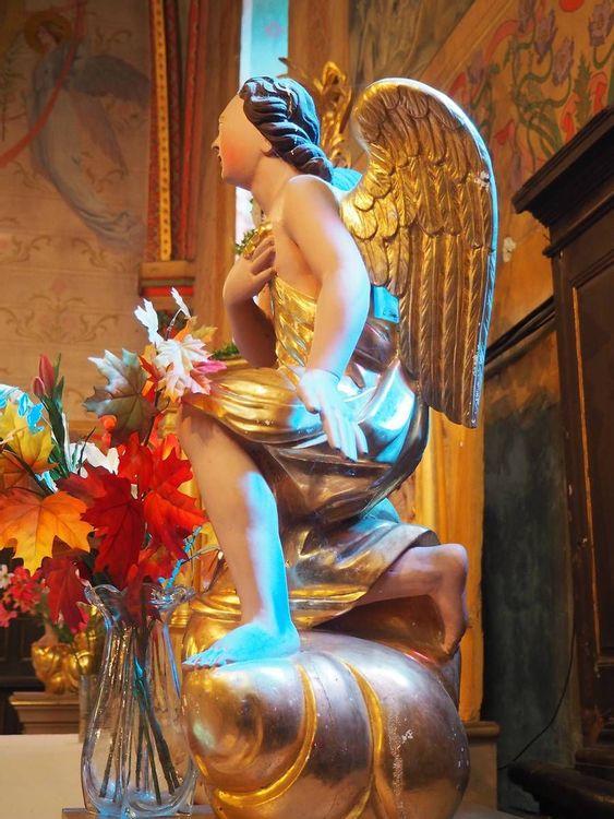 Statue - Eglise Cazères-sur-l'Adour