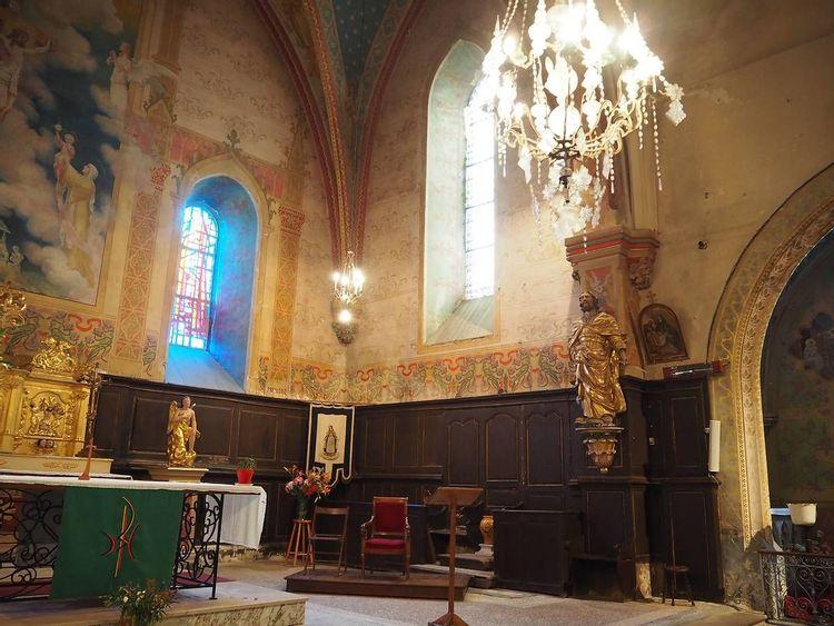 Photo intérieure - église Cazères-sur-l'Adour