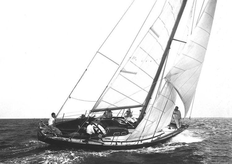 """Bateau de course-croisière Yanica""""J.Illingworth"""""""