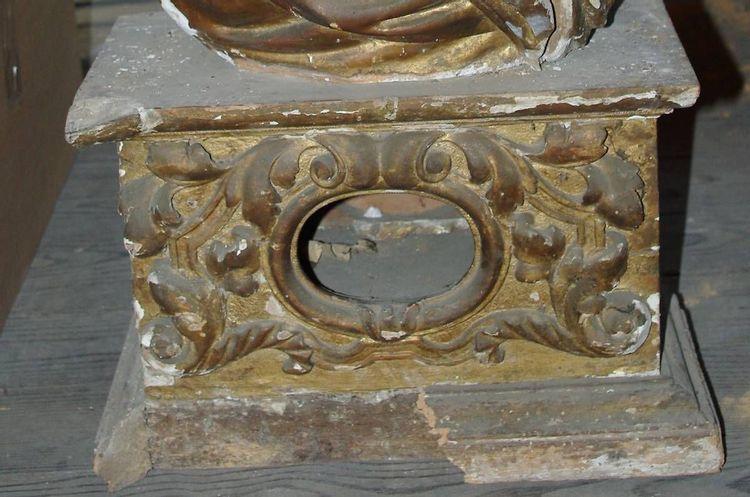 Buste reliquaires en l'église de Lavelanet en Ariège