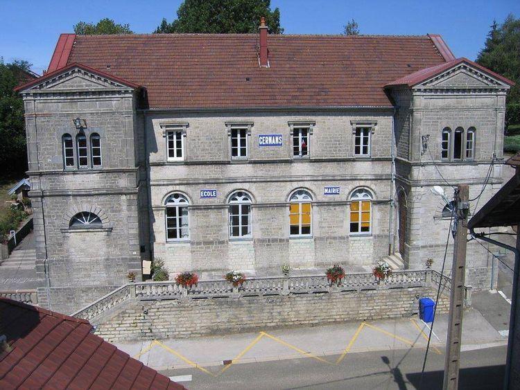 Mairie-école de Cernans