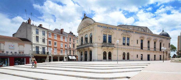 Le théâtre municipal de Roanne
