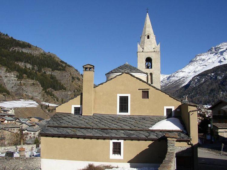 Église Saint-Michel de Lanslevillard à Val-Cenis