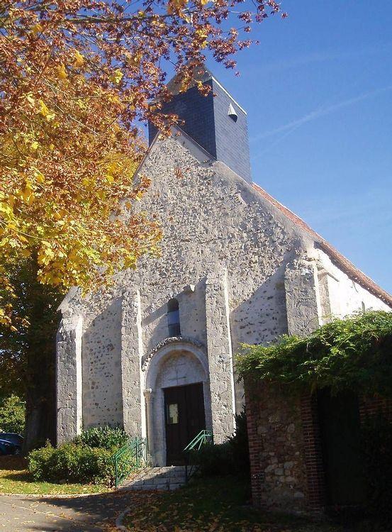 Eglise de Saint-Maur-sur-le-Loir en Eure-et-Loir