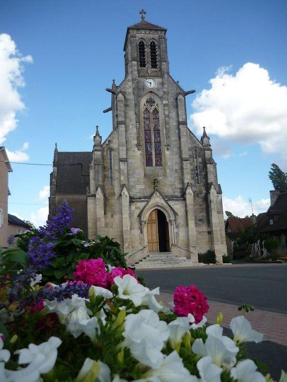 Vitraux de l'église St Blaise de Bélâbre