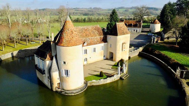 Château du Courbat à Le Pechereau