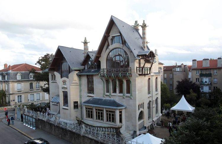 Villa Majorelle à Nancy en Meurthe-et-Moselle