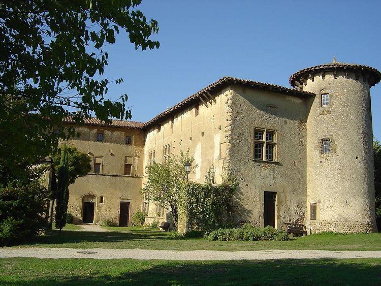 Prieuré de Manthes dans la Drôme