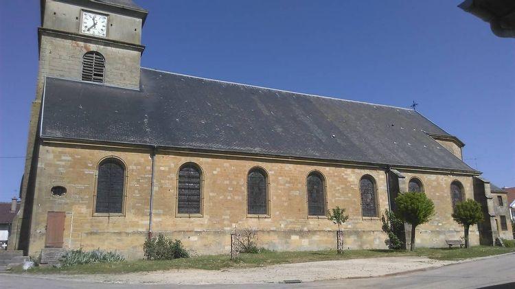 Eglise Saint-Pierre et Saint-Paul de Mouzay en Meuse