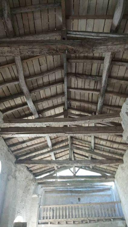 Toiture charpente - église Sainte-Raffine (2)
