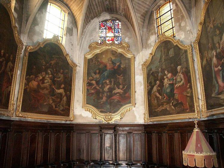 9 Tableaux de la Basilique Sainte Anne : projet de restauration