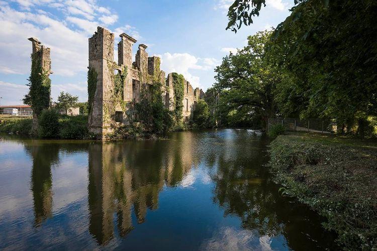 ruines du château de l'étenduère aux herbiers