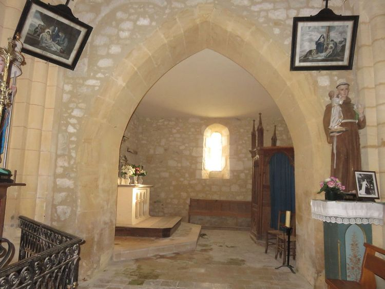 Nef - église de Tourliac